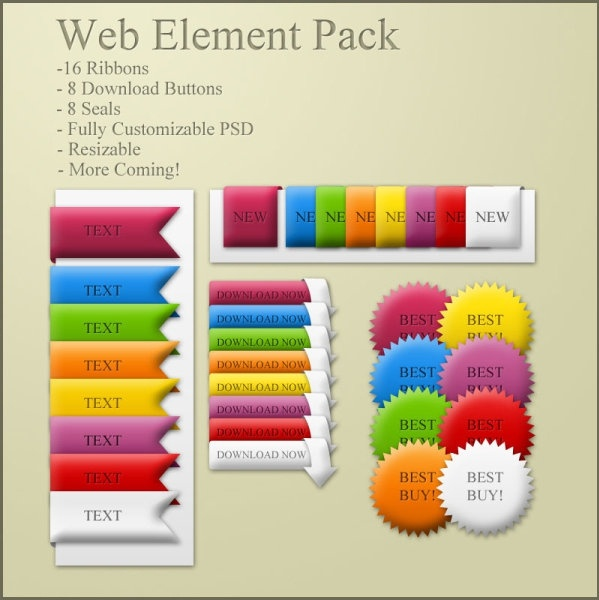 colorful icons psd