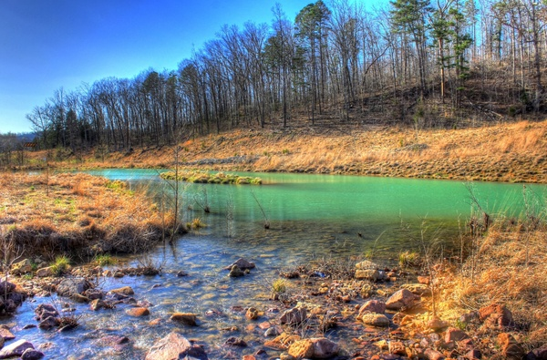 Colorful pool at johnson039s shut ins state park free - Clifty falls state park swimming pool ...