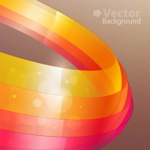 decorative background sparkling shiny modern 3d circles