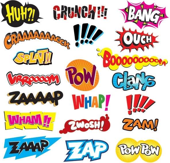 comics word vector