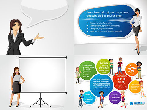commercial cartoon images vector