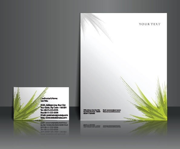 commercial style templates 03 vector