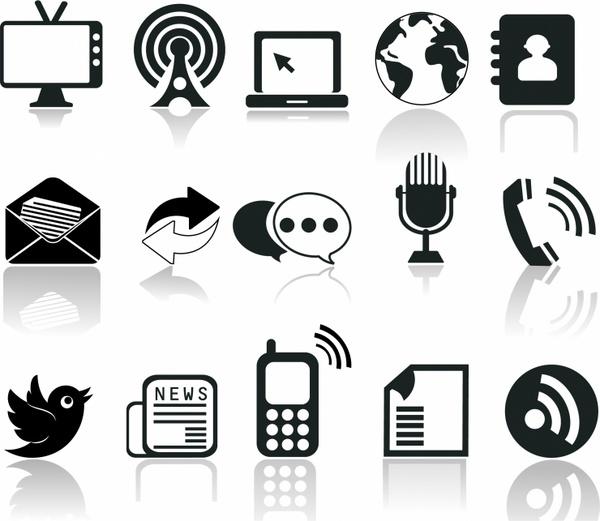 communication icons free vector in adobe illustrator ai ai encapsulated postscript eps eps format for free download 1 06mb vector in adobe illustrator ai