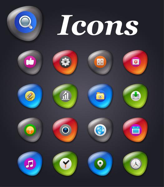 computer icons set