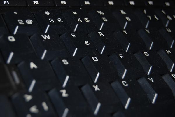computer keyboard stock photo