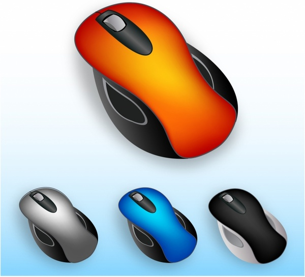 Computer mouse Free vector in Adobe Illustrator ai (  AI