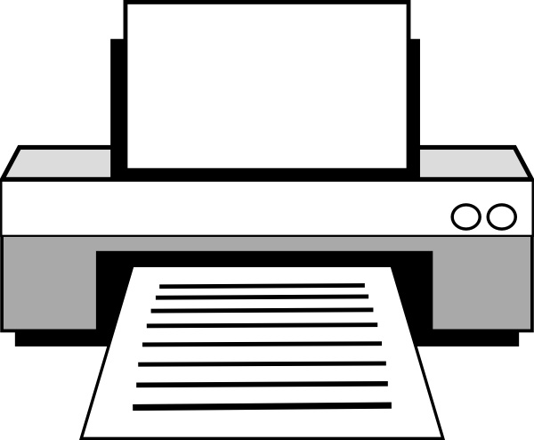 computer printer clip art free vector in open office drawing svg rh all free download com printer clip art images printing clip art images