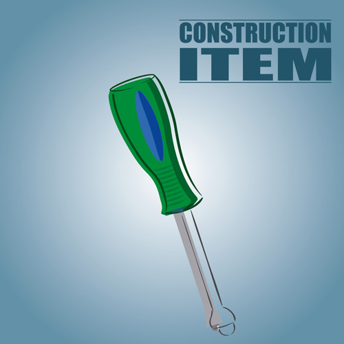 construction tool creative background vector