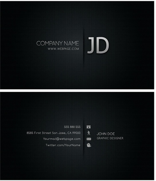 Cool Business Card Templates Psd Layered Free Psd In Photoshop Psd