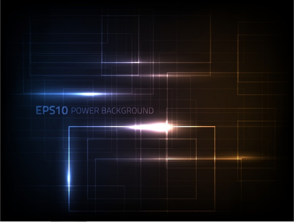 technology background light effect motion lines decor