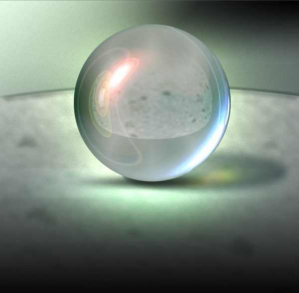 cool texture transparent sphere psd layered