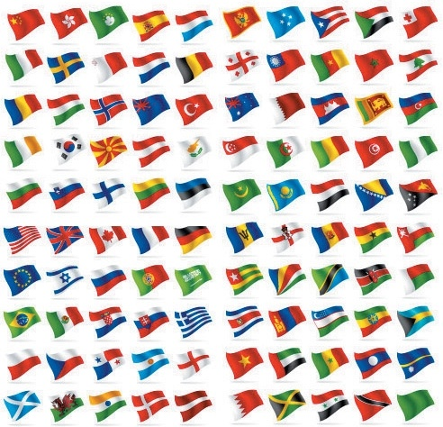 countries and regions flag flag vector free vector in adobe