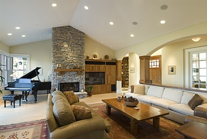 country style living room picture