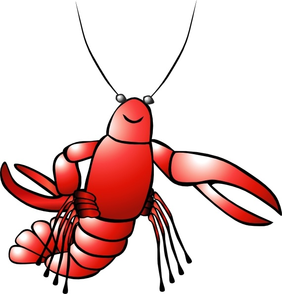 crawfish clip art free vector in open office drawing svg svg rh all free download com