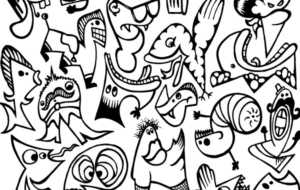 Crazy Characters Free vector in Encapsulated PostScript eps (  eps