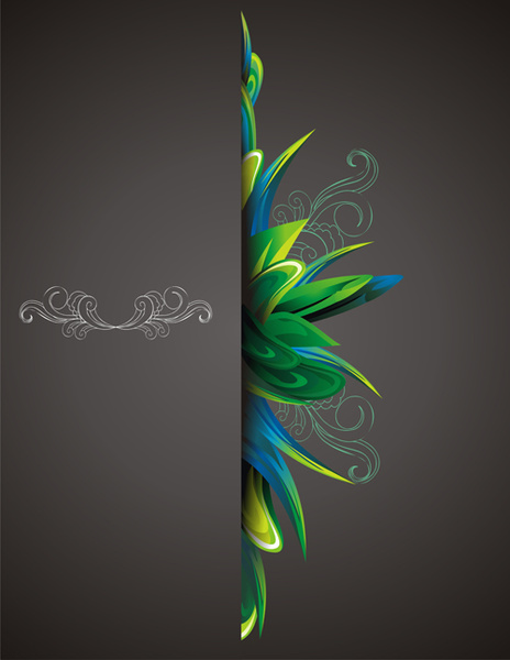 abstract cover page design free vector download  20 251