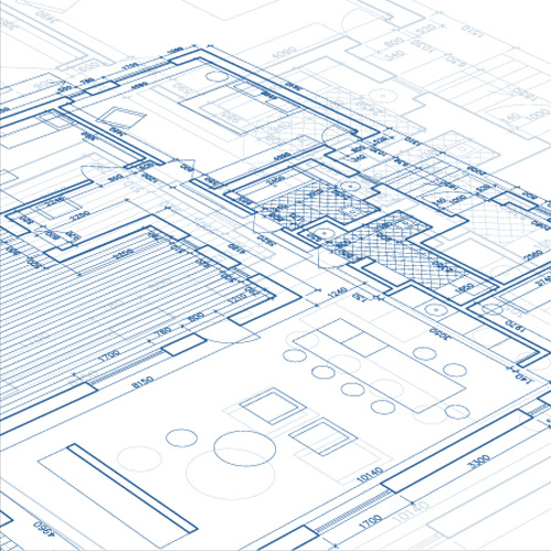 Architecture free vector download 1 011 free vector for for Web design blueprints