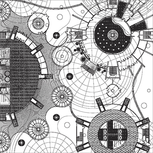 Creative architectural blueprint background vector free vector in creative architectural blueprint background vector malvernweather Gallery