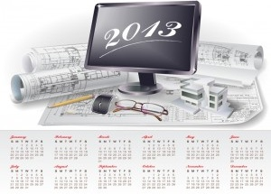 Free business calendar 2013 template for ms word 2013.