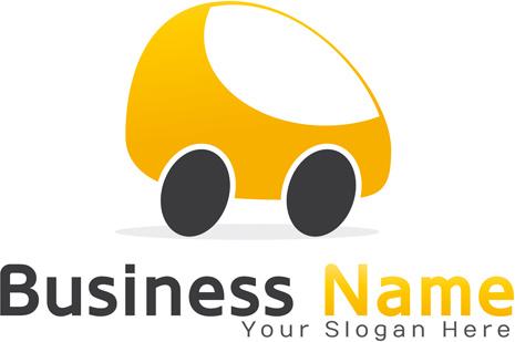 creative car logos design vector