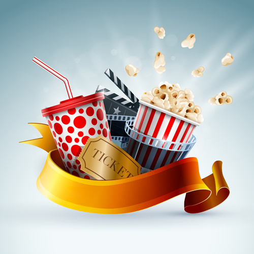 Creative Wallpapers: Cinema Free Vector Download (163 Free Vector) For