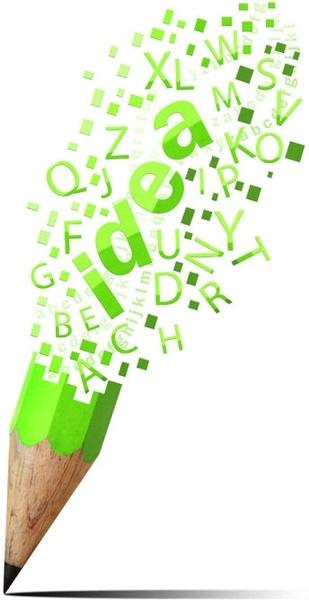 creative color pencil 02 hd picture