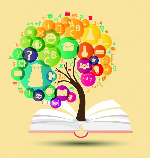 creative education idea infographics vector free vector in