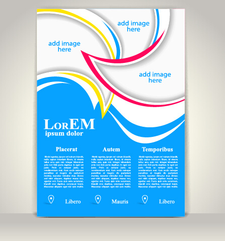 creative flyer and cover brochure design vector free vector 100576kb