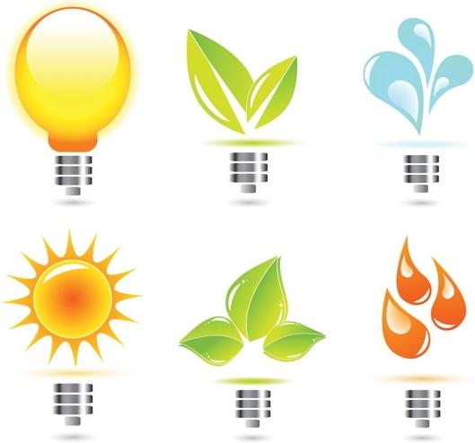 creative light bulb icon vector