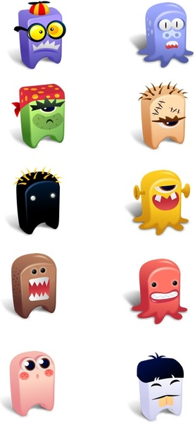 Creatures Icons Vol.2 icons pack