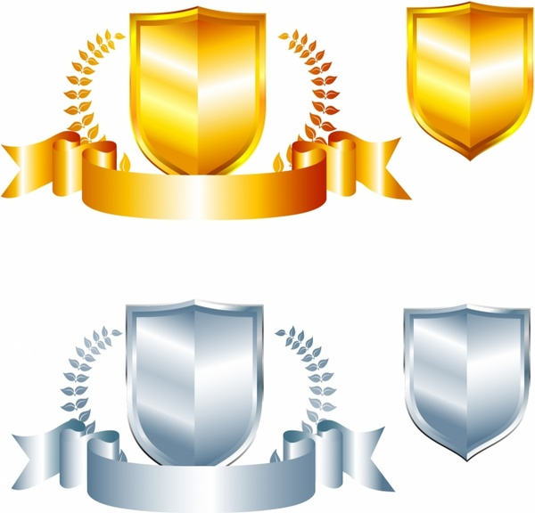 Crest (silver and gold)