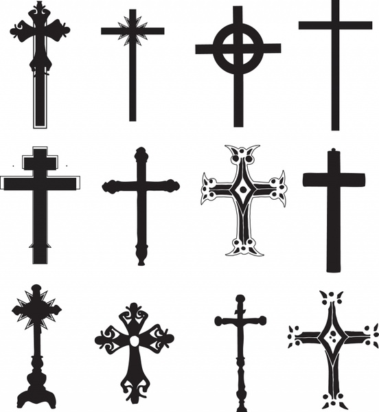 Cross Religious Symbol Christian Religion Free vector in