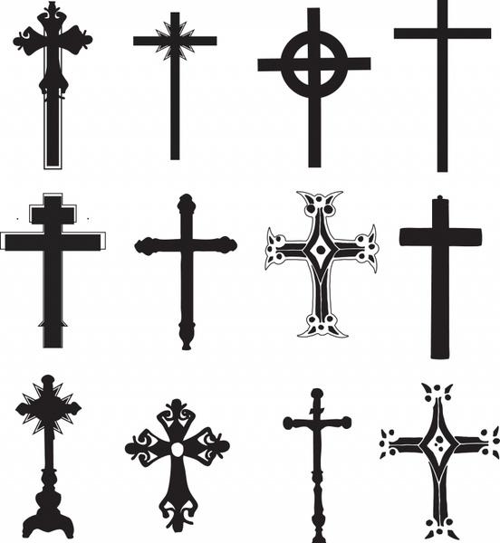 Cross Religious Symbol Christian Religion Free Vector In Adobe