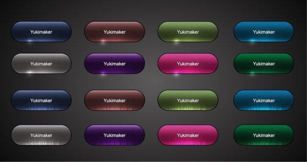 crystal texture button vector