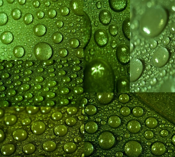 crystal translucent droplets hd picture