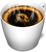 Cup 3 coffee hot