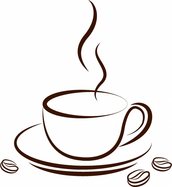 cup of coffee free vector in adobe illustrator ai ai rh all free download com coffee cup vector graphic coffee cup vector art