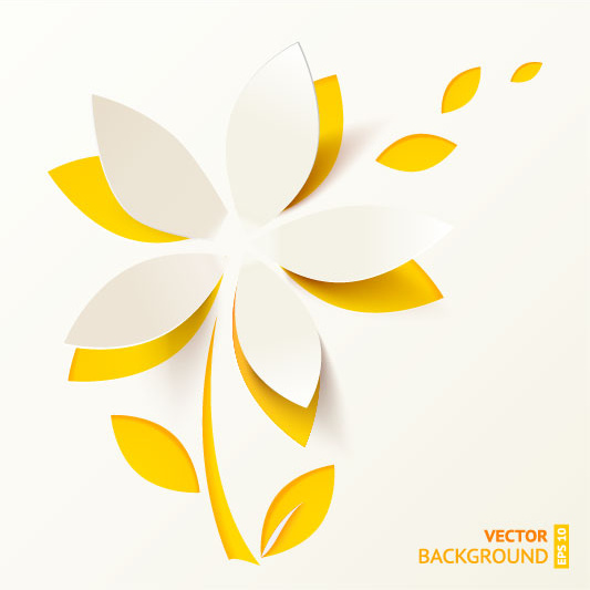 Cut paper flowers free vector in encapsulated postscript eps eps cut paper flowers mightylinksfo