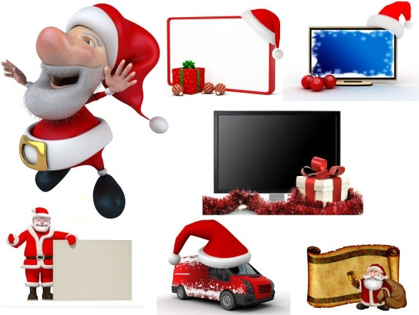 cute 3d christmas hd picture