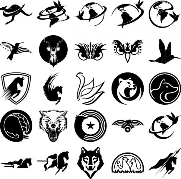 cute animals for logo company