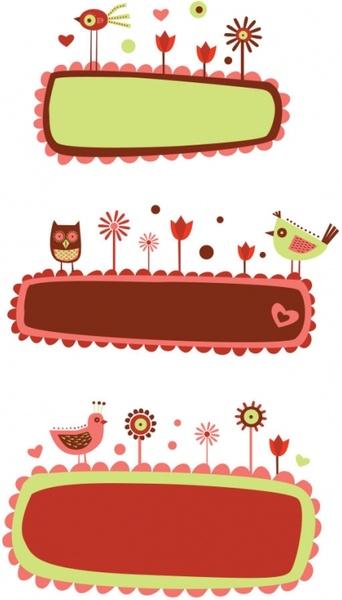 cute cartoon illustration vector