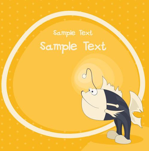 cute cartoon small animal vector background