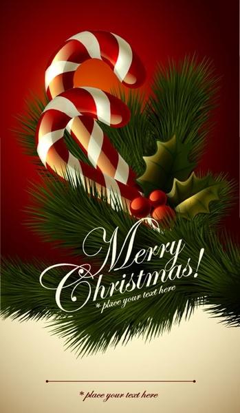 cute christmas tags 04 vector