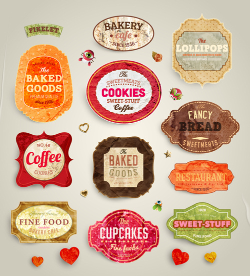 Food Label Template Free Vector Download 25 834 Free