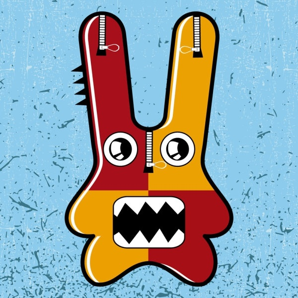 cute funny cartoon 05 vector