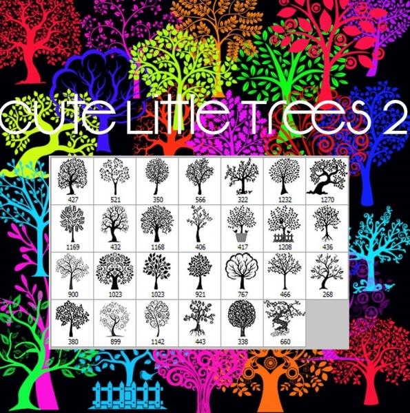 cute little trees 2