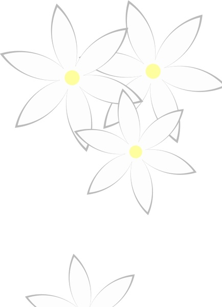 Daisies Free vector in Open office drawing svg (  svg ) vector