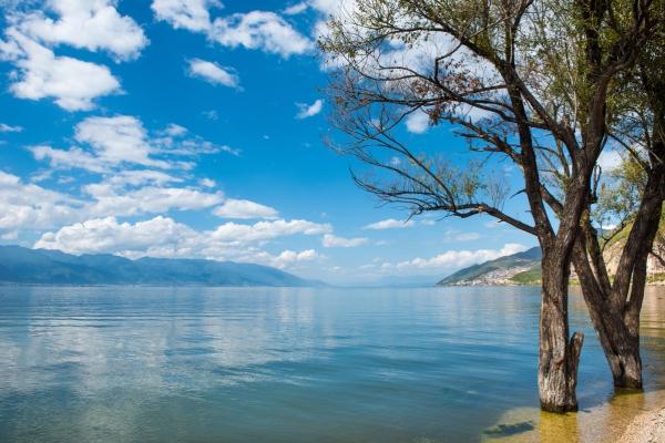 beautiful calm lake scenery