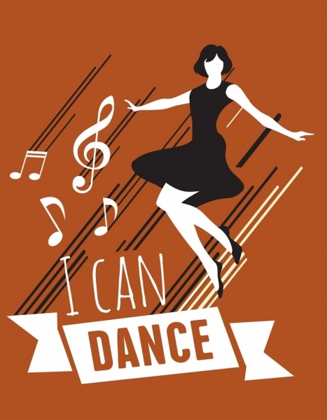 Dance Background Woman Notes Icons Classical Design Free Vector In Adobe Illustrator Ai Ai Format Encapsulated Postscript Eps Eps Format Format For Free Download 2 42mb