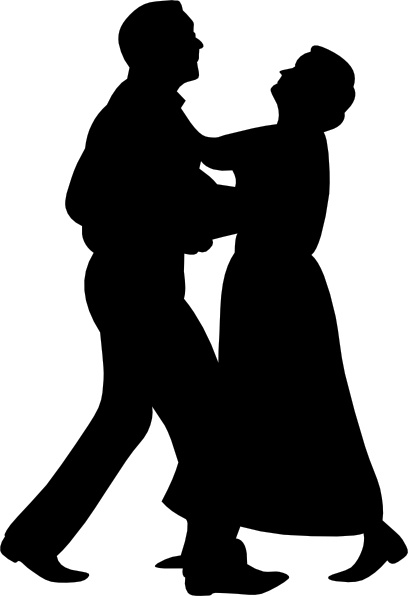 Dancing Couple clip art Free vector in Open office drawing ...